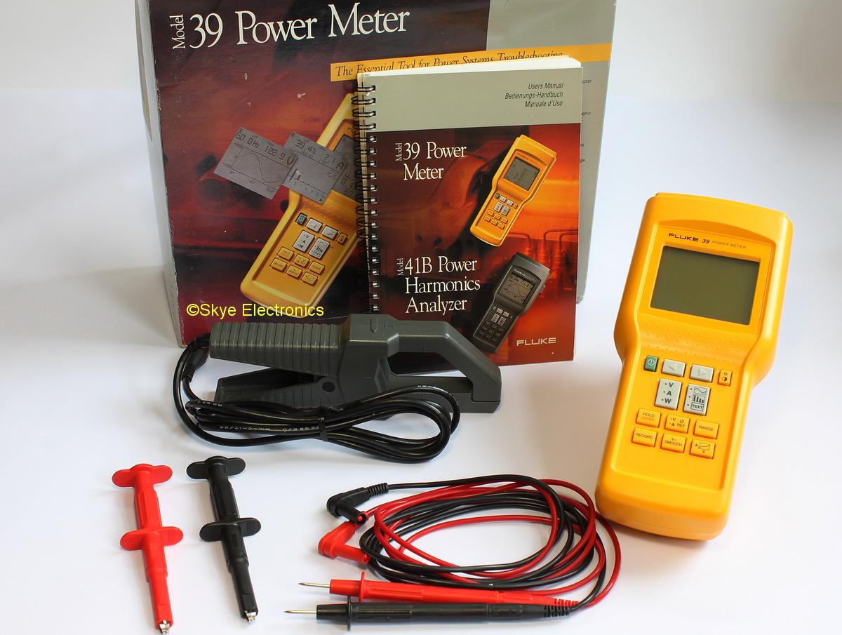 Fluke 39 Power Meter Analyzer Skye Electronics The