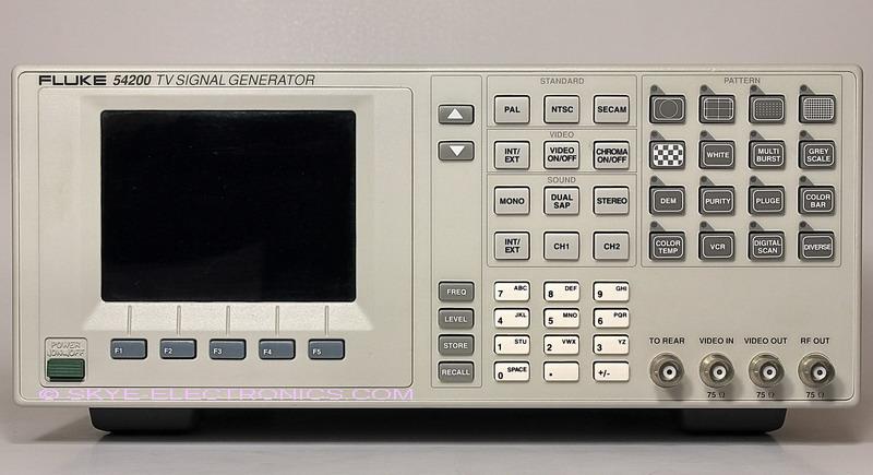 Fluke 54200 Video Generator Skye Electronics