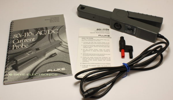 Fluke 80i-110S AC/DC Current Probe Skye Electronics