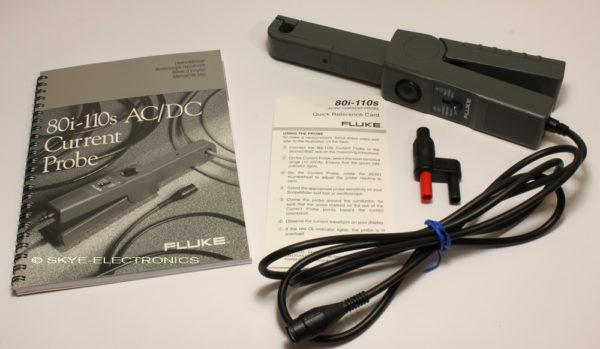 Fluke 80i-110S AC/DC Current Probe Skye Electronics