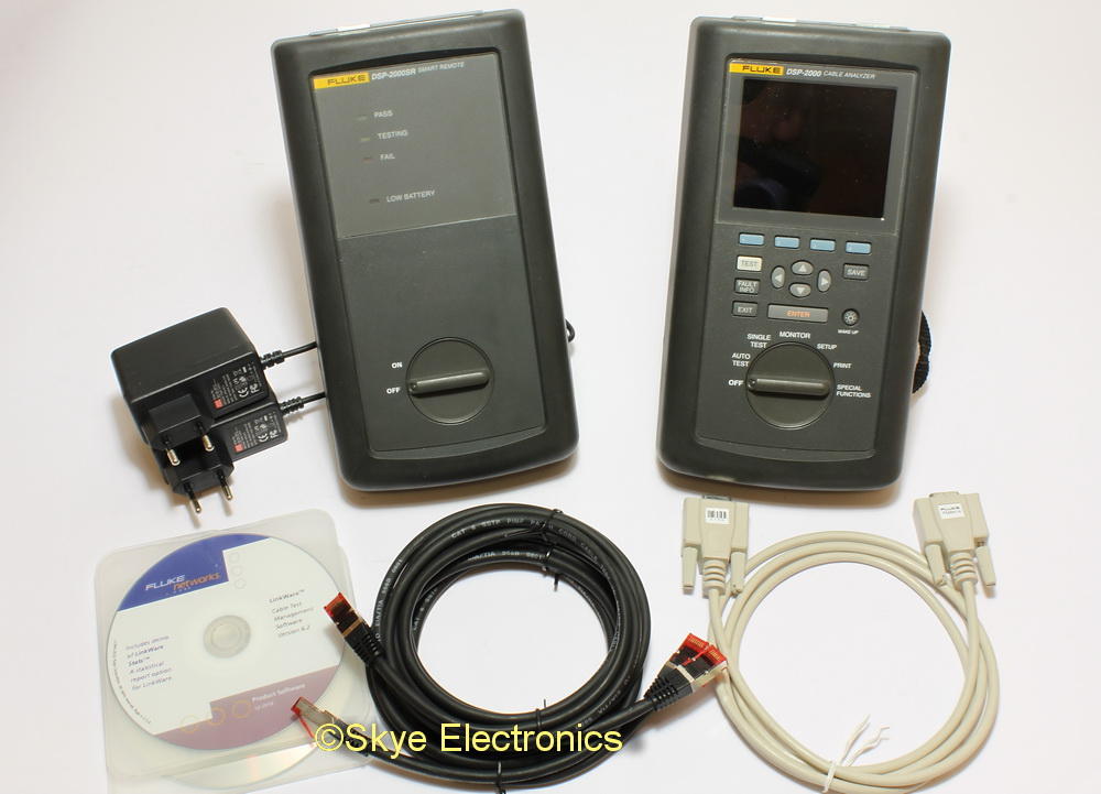 Fluke DSP-2000 Cable Tester Skye Electronics