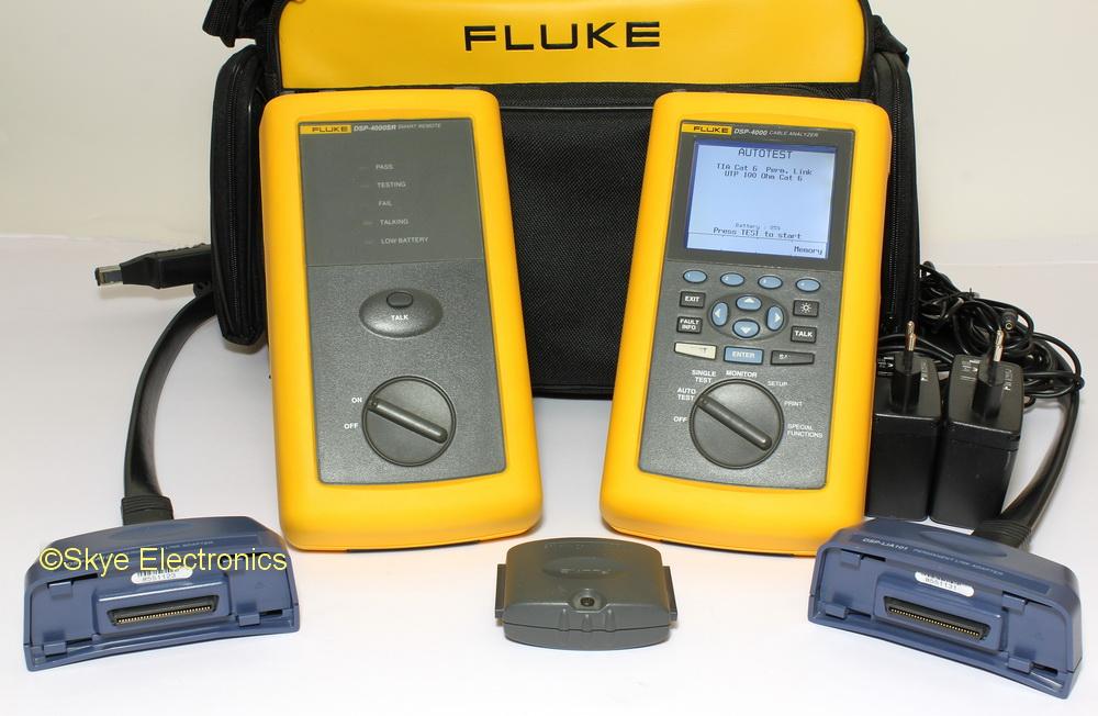 Fluke DSP-4000 Cable Analyzers Skye Electronics
