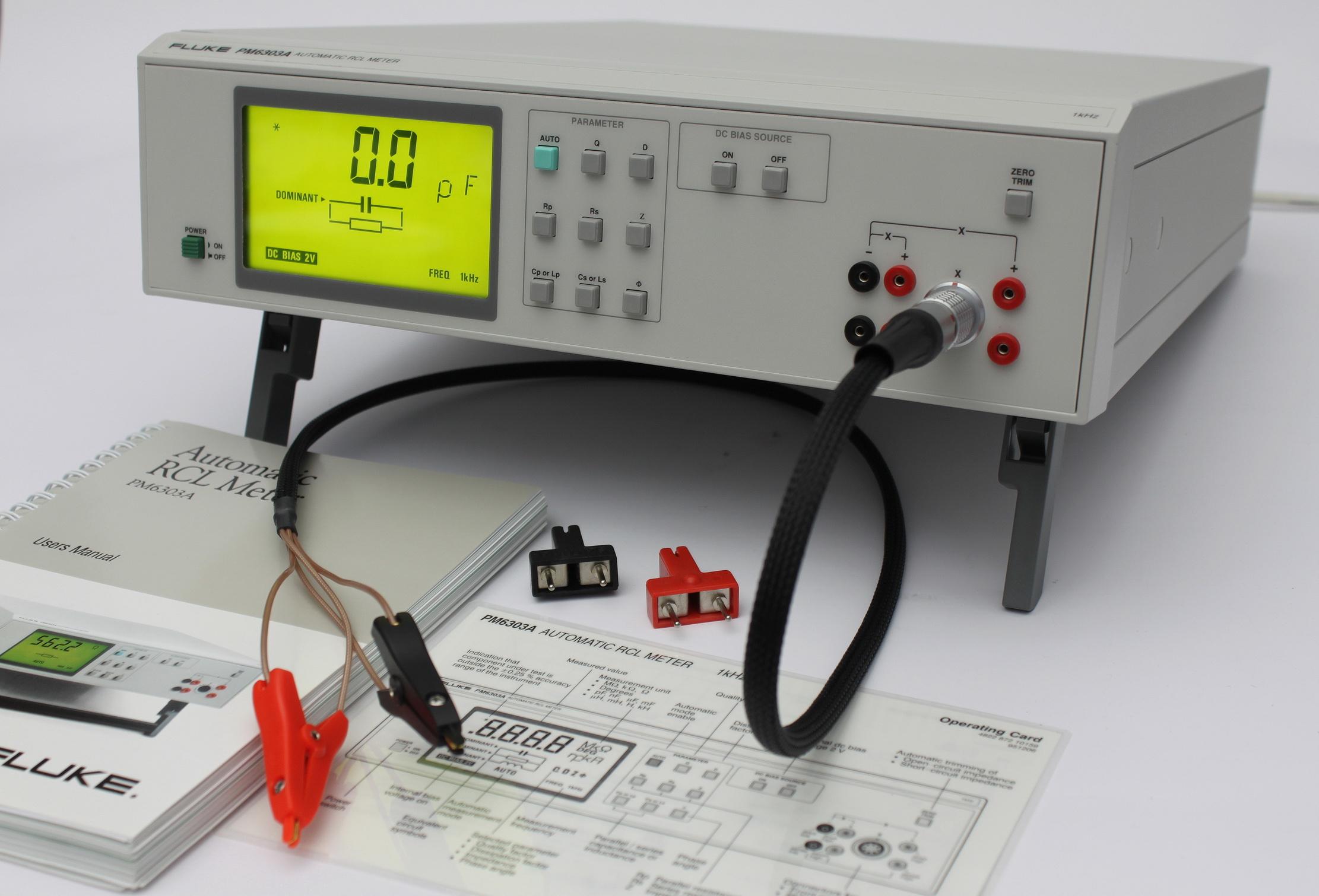 Fluke Pm6303 A Rcl Meter Skye Electronics The Netherlands