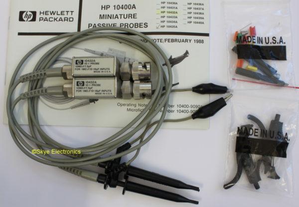 HP 10432A set Skye Electronics