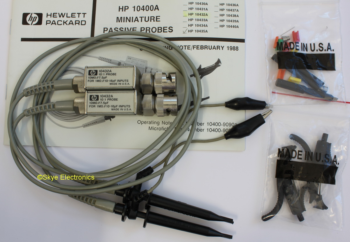 HP 10432A set Skye Electronics