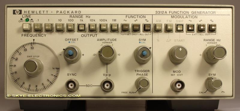 HP 3312A Skye Electronics