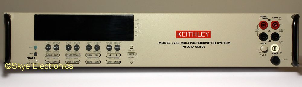Keithley 2750 Skye Electronics