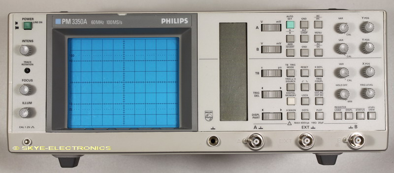 Philips PM3350A Service Manual Skye Electronics