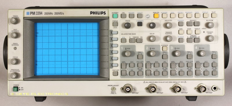 Philips PM3394 Service Manual Skye Electronics