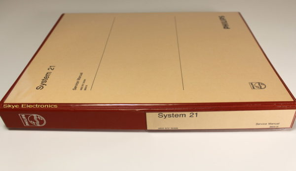 Philips System 21 Service Manual Skye Electronics