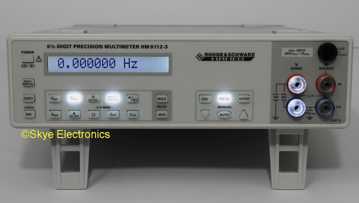 Rohde & Schwarz HM8112-3 Skye Electronics