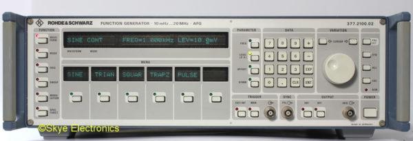 Rohde & Schwarz AFG Skye Electronics