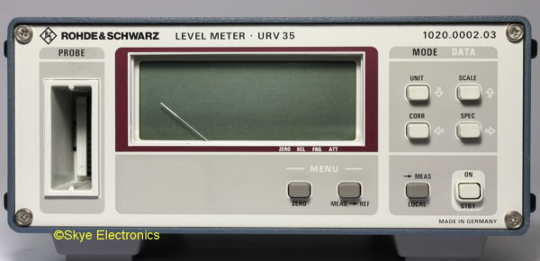 R&S URV 35 Skye Electronics