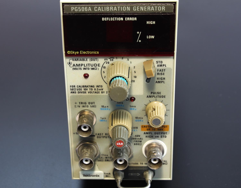 Tektronix PG506A Skye Electronics