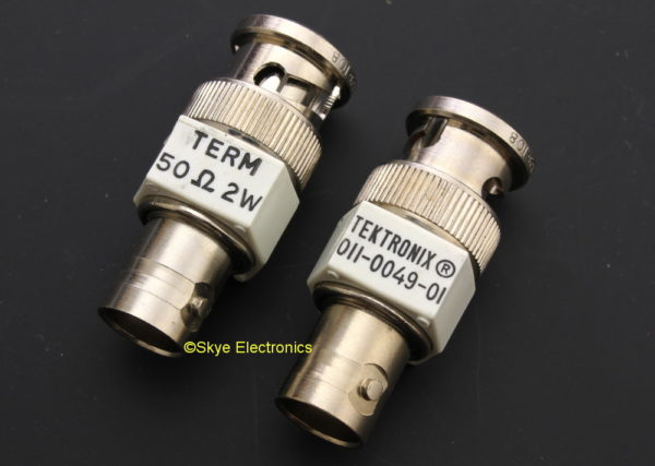 Tektronix 50 Ohm Termination Skye Electronics