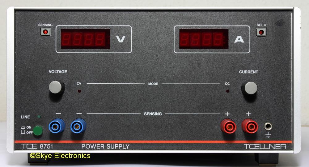 Toellner 8751-16 Skye Electronics