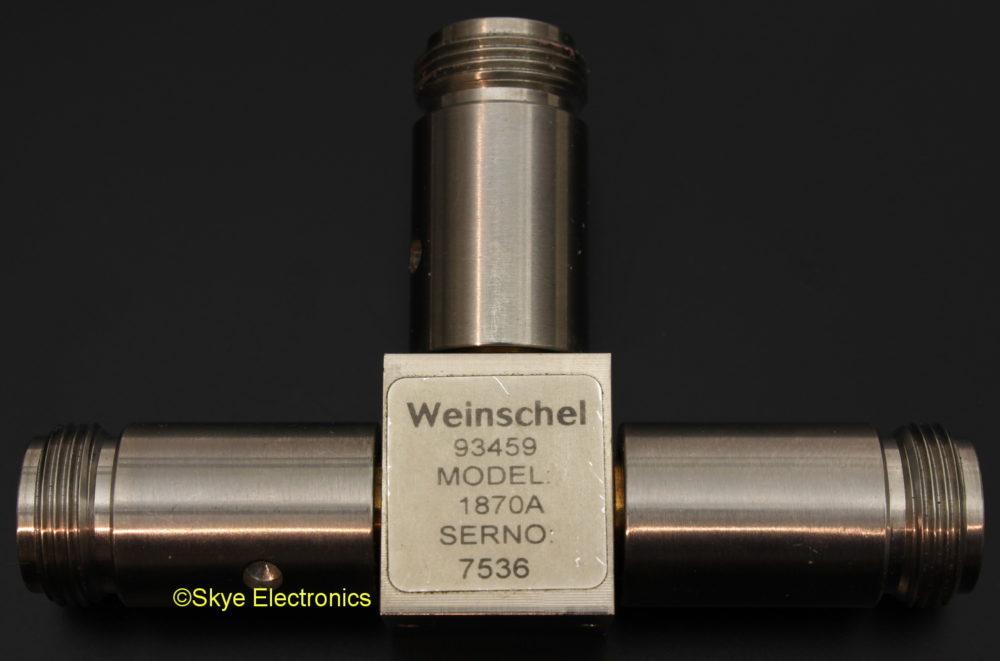 Weinschel 1870A 18 GHz Power Splitter Skye Electronics
