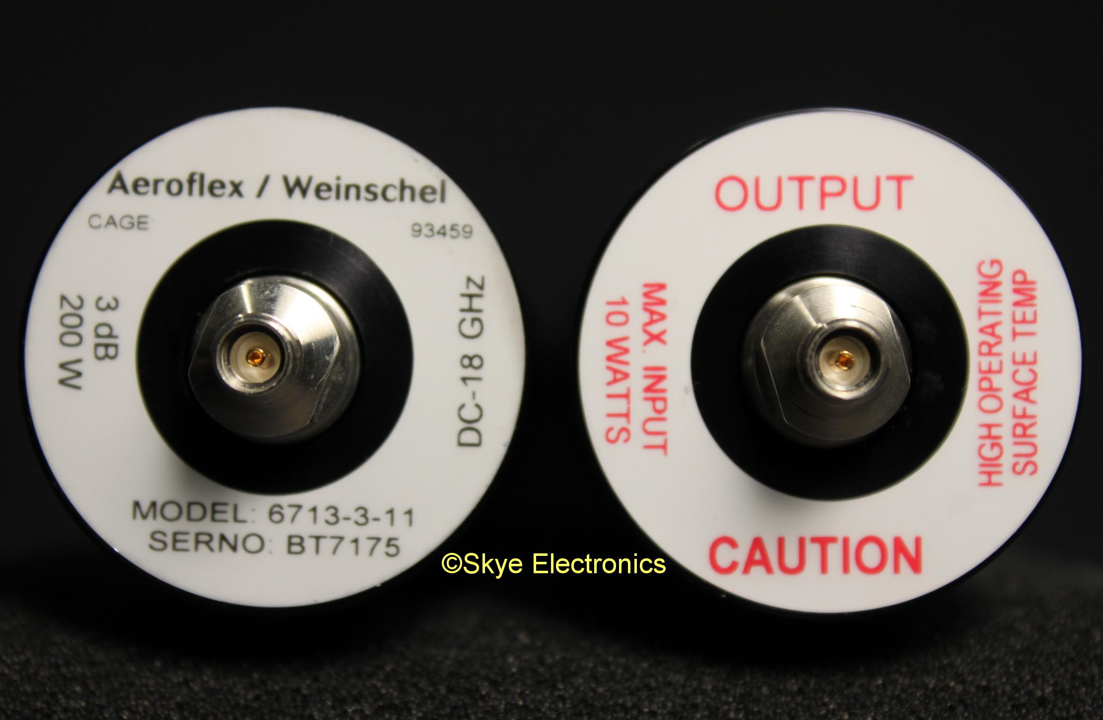 Aeroflex-Weinschel 6713-3-11 Skye Electronics
