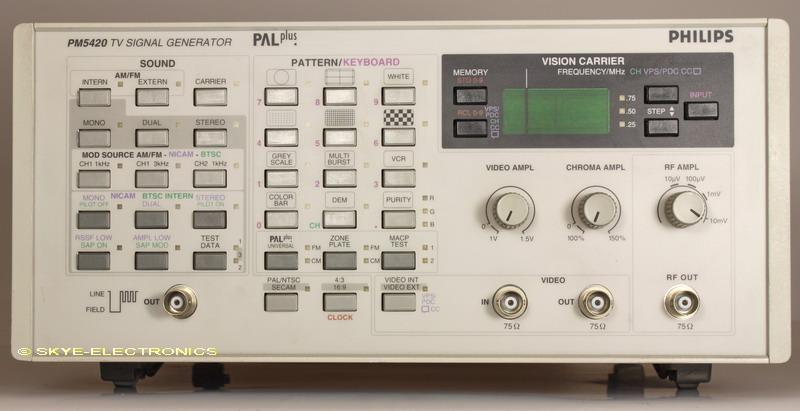 Philips PM5420 Skye Electronics