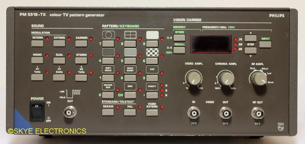 Philips PM5518TX Skye Electronics