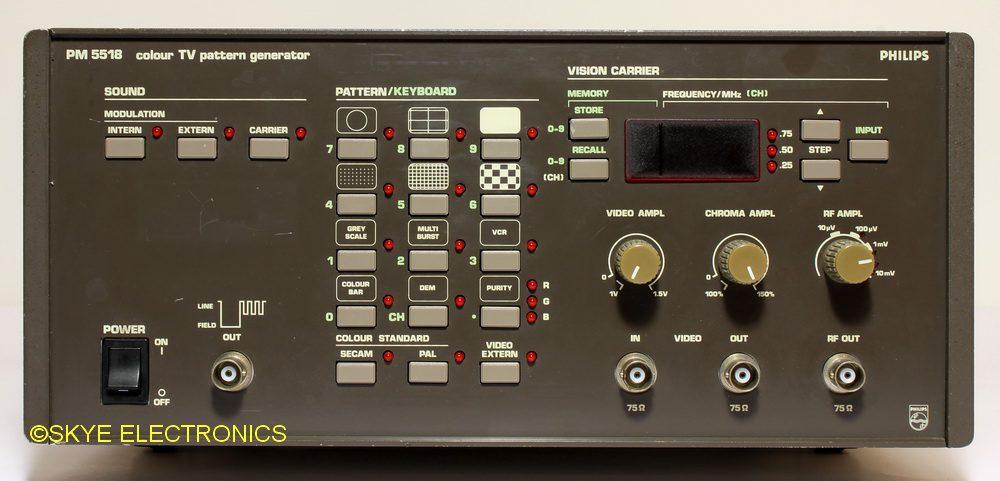 Philips PM5518 Skye Electronics