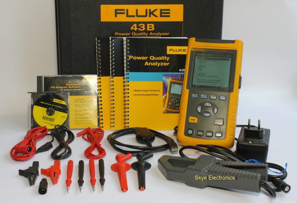 Skye Electronics Fluke 43B