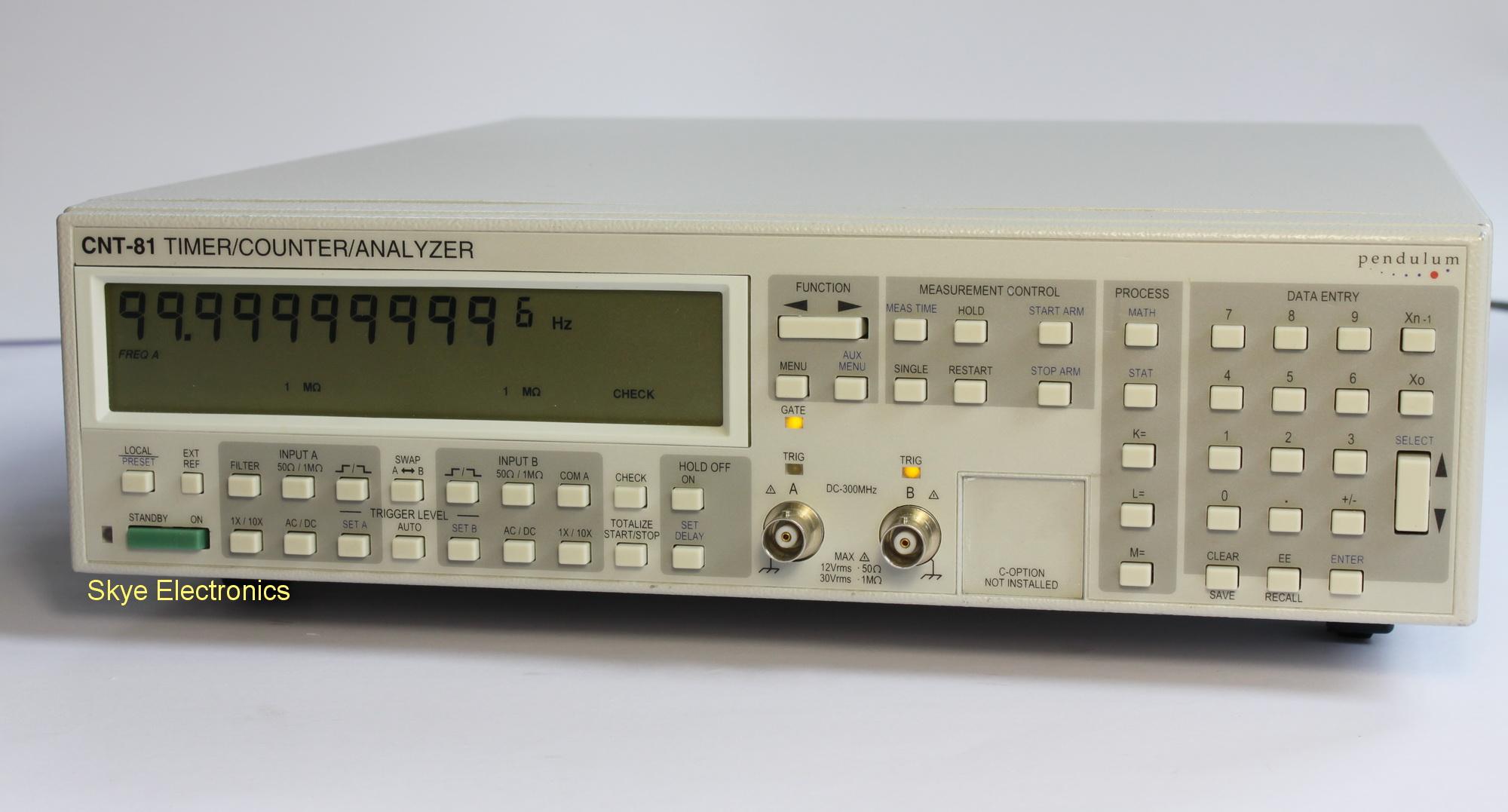 Pendulum CNT81-056 Skye Electronics