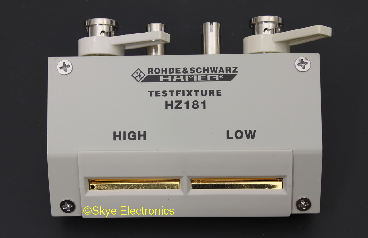Rohde & Schwarz HZ181 Skye Electronics