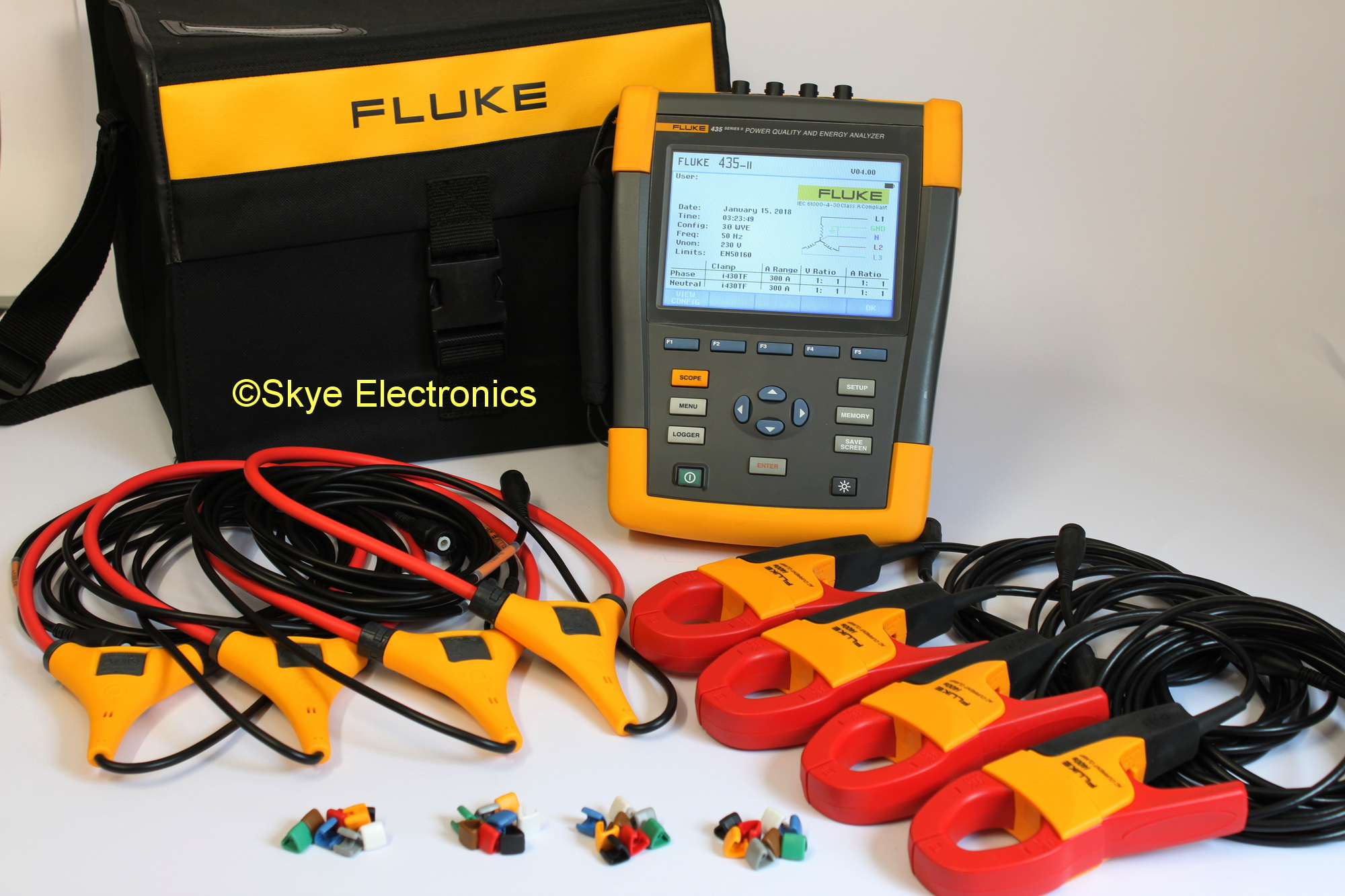 Fluke 435 Series Ii Skye Electronics The Netherlands