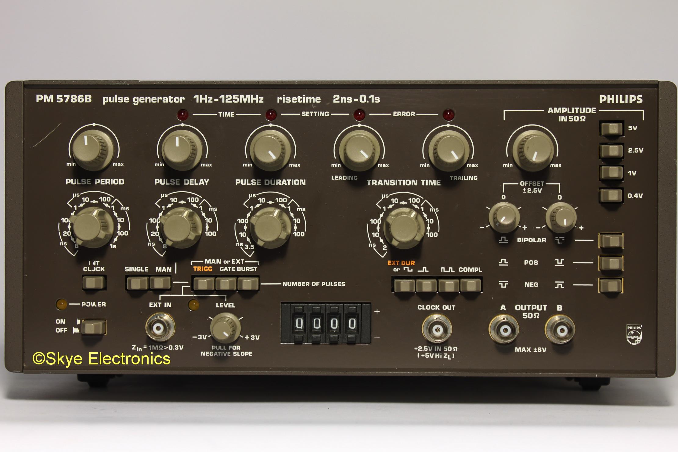 Philips PM5786B Skye Electronics