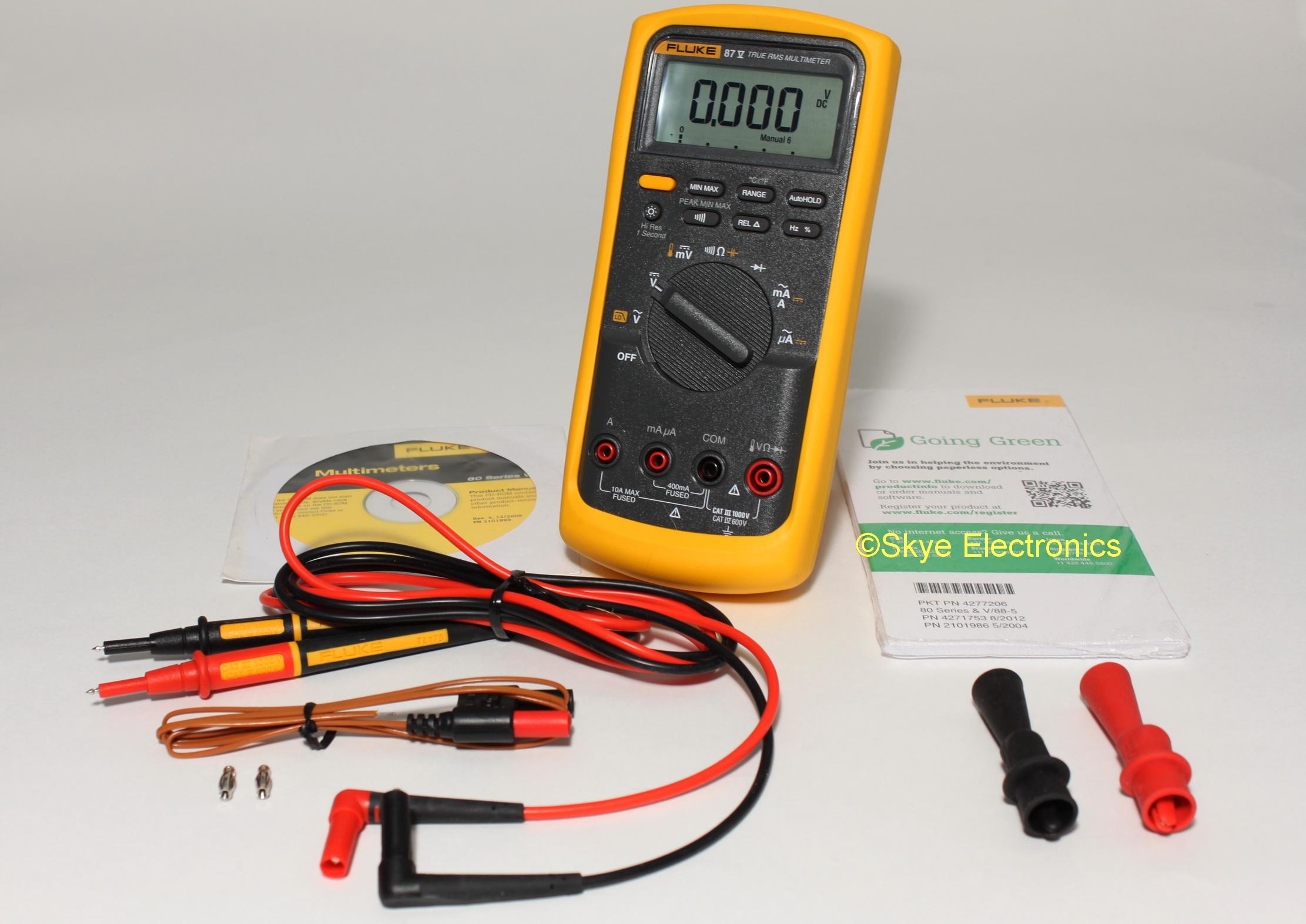 Fluke 87V Skye Electronics
