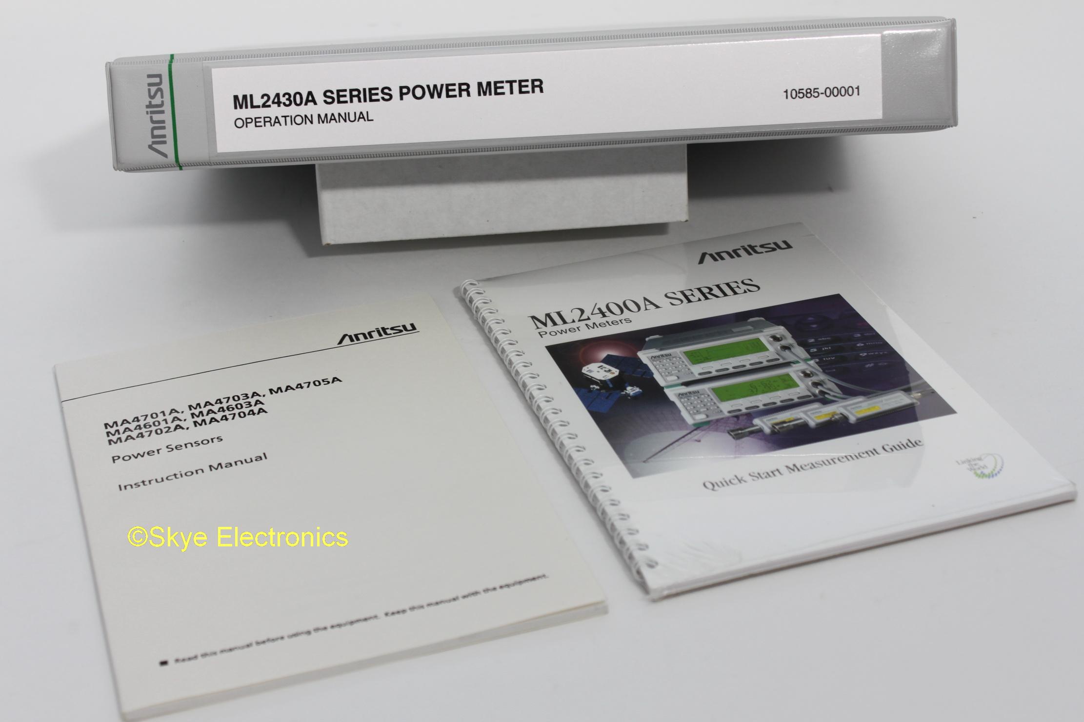 Anritsu ML2430A Skye Electronics